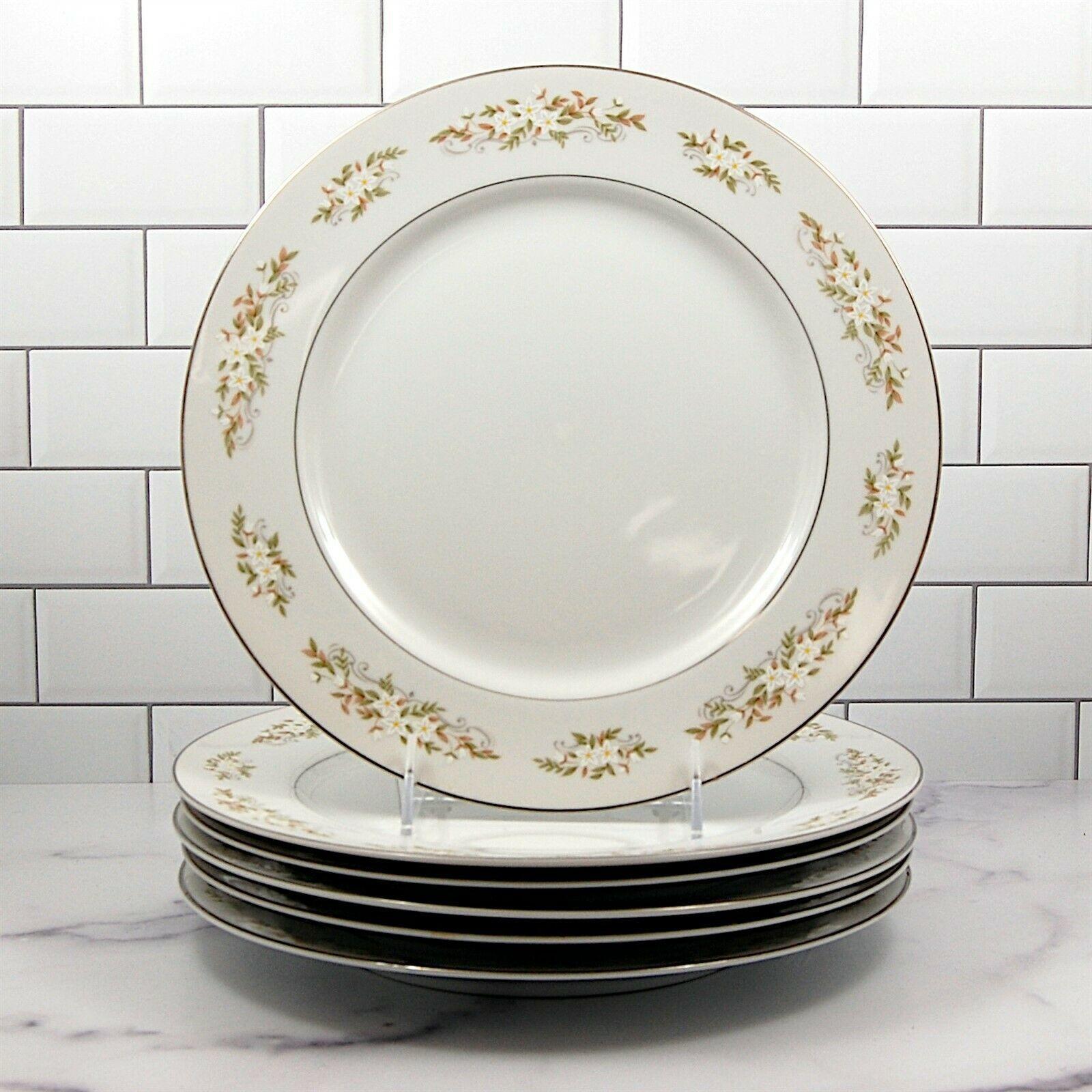 International Silver Co Springtime Japan Set of 6 Dinner Plates 10.25 in (26cm) - $33.24