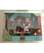 "BARBIE COLLECTIBLES HANSEL & GRETEL 4½"" DOLL SET 2000 - $19.97"
