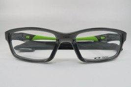 New Authentic Oakley OX8027-0253 Grey Smoke Eyeglasses 53/17/140 w/ Cloth Bag - $89.35