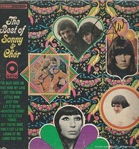 Sonny Bono & Cher Autographed The Best of Sonny & Cher Record Album Cover - $495.00