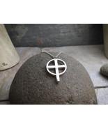 "Eternal Cross ""Original"" Pendant - Sterling Silver Pendant on 18"" Sterli... - $84.00"