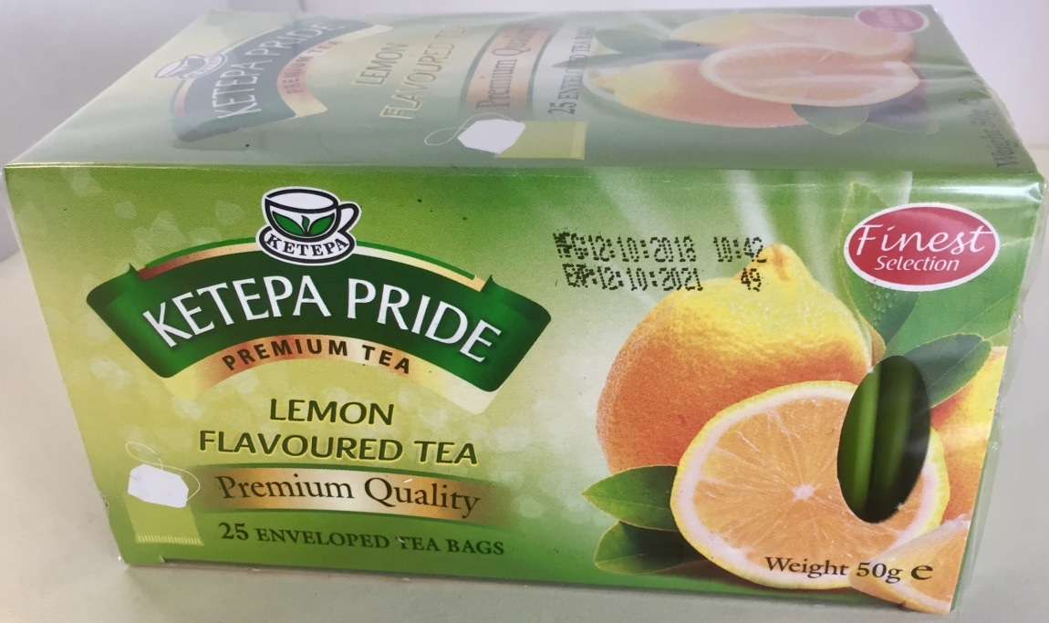 Flavoured Tea - Lemon Flavoured Ketepa Pride Tea with citrus infusions - $3.85