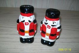 Christmas Nut Cracker Salt & Pepper Shakers - $7.99