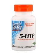 Doctor's Best, Best 5-HTP, 100 mg, 60 Veggie Caps Homeopatia - $20.00