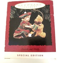 2 Hallmark Keepsake Ornaments Lucinda & Teddy  & Kris and the Kringles  - $11.30