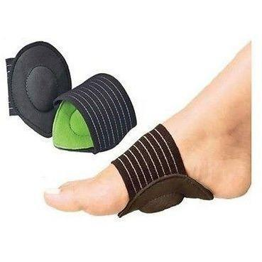 STRUTZ CUSHIONED ARCH FOOT SUPPORT ~ Helps Decrease Plantar Fasciitis Pain 1 Pr - $8.99