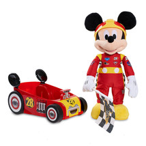Disney Mickey and the Roadster Racers Talking Mickey Plush and Car New w... - $64.34