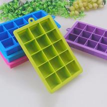 Big Ice Maker Square Shape Ice Silicone - $15.92 CAD