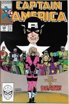 Captain America Comic Book #380 Marvel Comics 1990 VERY FINE- - $1.99