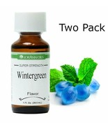 2 Pack- Wintergreen Flavor, LorAnn, 1 oz bottles - $19.37