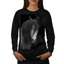 Gloom Dark Horse Jumper Grey Sad Pony Women Sweatshirt - $18.99