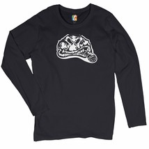 Gorilla Smoking a Cigar Women's Long Sleeve T-shirt Halloween Scary Atti... - $15.01+