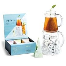 Tea Forte TEA OVER ICE Steeping Tea Pitcher Set and Iced Tea Infuser Sam... - €51,81 EUR