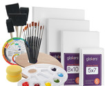 Full Canvas Panels Painting Value Kit! All You Need To Start Painting - £28.30 GBP