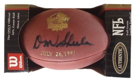 Don Shula HOF Induction Day, autographed Football - $495.99