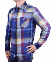 NEW LEVI'S MEN'S CLASSIC DATSUM TWILL LONG SLEEVE SHIRT TOTAL ECLIPSE 3LDLW1541 image 2