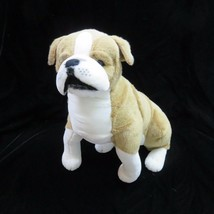 "English Bulldog Melissa & Doug Plush 19"" Giant Stuffed Toy Animal Age 3 ... - $38.60"