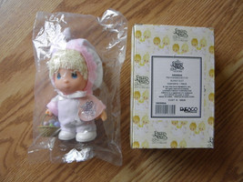 PRECIOUS MOMENTS LAST FOREVER BABY IN BUNNY SUIT - $9.89