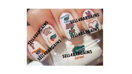 Top Quality Florida Gators Logos College Decals Nail Art Decals - $16.99