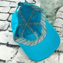 Tropical Trends Unisex One Sz Hat Sky Blue Strapback Baseball Cap 100% Cotton image 5