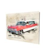 1960 Red White Cadillac Ambulance EMS EMT Art Design 16x20 Aluminum Wall... - $59.35