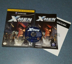 X-Men Legends (Nintendo GameCube, 2004) Complete Very Clean Disc Fast Sh... - $11.26