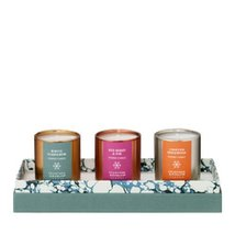 Crabtree & Evelyn MINI Fragrance SMALL Scented Candle Trilogy 2.36 Oz NEW - $50.00