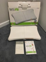 Nintendo Wii Fit Exercise Balance Board, Game, and Manuals in box  (Wii,... - $44.55