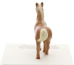 Hagen-Renaker Miniature Ceramic Horse Figurine Tiny Chestnut Stallion image 4