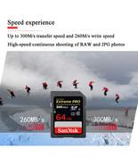 SanDisk Extreme PRO High Speed SD Card 128GB Class10 300M/s U3 SDHC SDXC... - $319.01