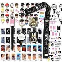 BTS Gifts Set for Army - 32Pcs BTS Lomo Cards/2 BTS Phone Ring Holder/ 1... - $15.24