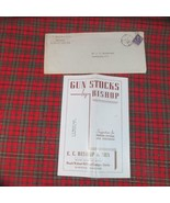 1947 Gun Stocks by BISHOP Glossy Paper Illustrated Pamplet - $8.59