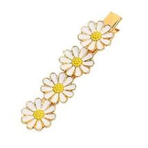 Beautiful Lovely [WHITE Daisy] Hair Clips Hair Pins Hair Accessories(3.30.7'')