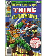 Marvel Two-In-One Comic Book #45 The Thing and Captain Marvel, 1978 VERY... - $2.25