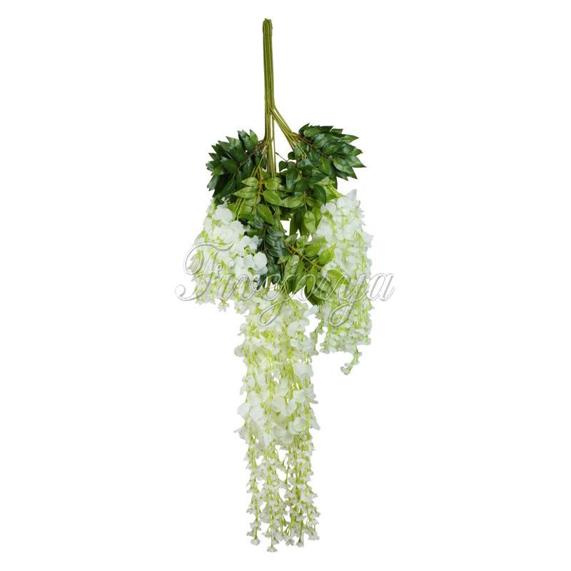 vlovelife 12pcs Fake Flower Wreaths for Wedding Home Decor