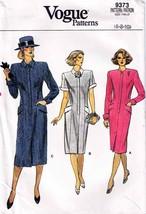 Vintage 1985 Misses LOOSE-FITTING DRESS Vogue Pattern 9373-v Sizes 6-8-1... - $20.00