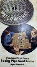 1972 Vintage Original WATERWORKS Parker Bros Leaky Pipe Card Game #770 C... - $19.80