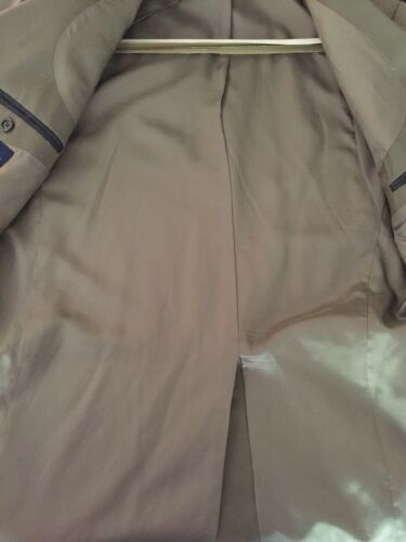 Ralph Lauren Mens 100% Wool Suit 44 Lord & Taylor Olive image 7
