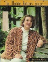 Machine Knitters Source Sept Oct 1990 Magazine Autumn Knits Patterns  - $6.99