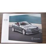 2014 mercedes slk 55 amg slk 350 slk 250 owners sales brochure w172  slk... - $11.87