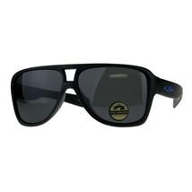 Polarized Lens Kush Sunglasses Mens Matte Black Racer Frame UV 400 - $11.65