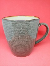 Roma Sage by Sango 4814 Coffee Mug Sage Green Tan Center B106 - $10.88