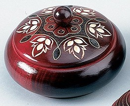 Polish Handmade Wooden ROUND BOX Linden Wood Keepsake Jewelry Box - €28,72 EUR