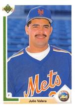 1991 Upper Deck #534 Julio Valera NM Near Mint Mets - $0.75