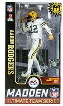 Aaron Rodgers Green Bay Packers McFarlane Toys NFL Madden NFL 19 Team Se... - $24.70