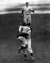 Don Larsen Yogi Berra Perfect Yankees Vintage 11X14 BW Baseball Memorabi... - $14.95