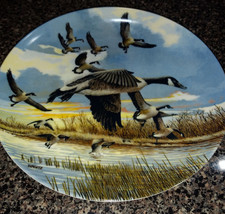 """1986 """"The Landing"""" Limited Edition Collector Plate by Artist Donald Pentz - $4.00"""