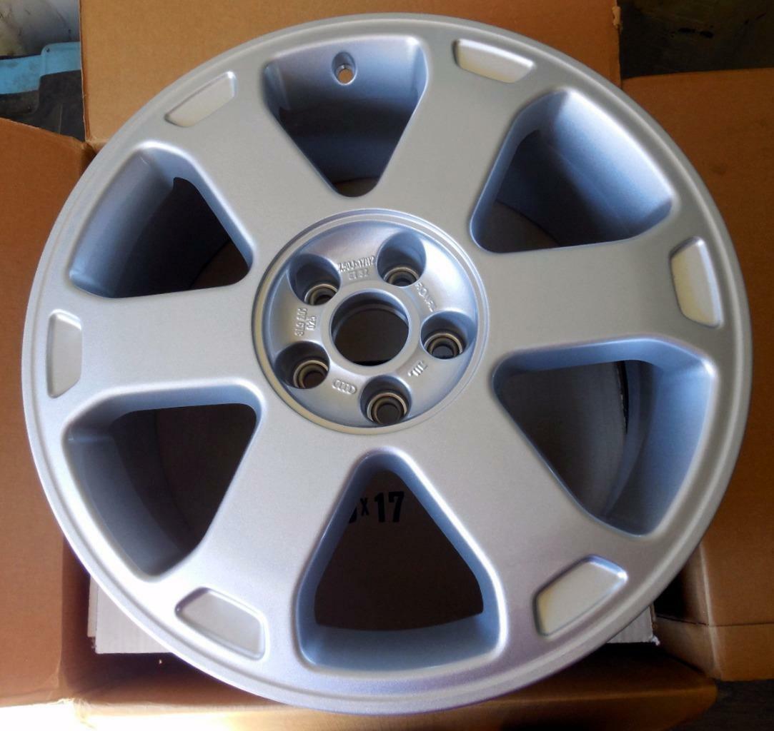 "NEW Audi OEM Factory 97-03  A3 S3 Quattro 17"" Silver Wheel 8L9601025 Z17 - $247.36"