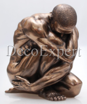 Male Nude Naked Man Athlete Bronze Sculpture * * * Free Air Shipping Eve... - $99.00