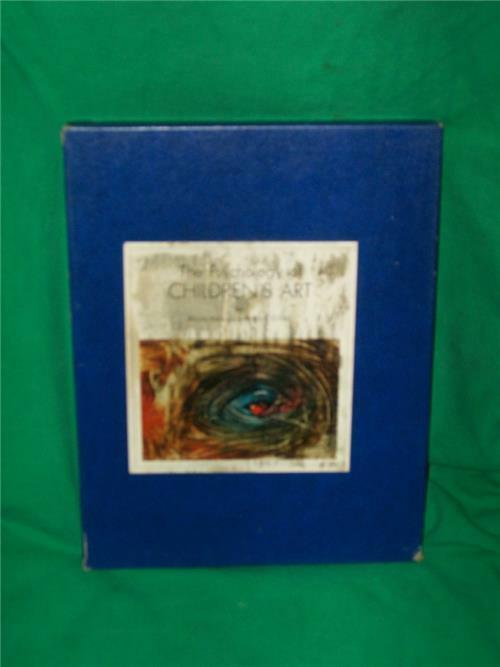 1967 PSYCHOLOGY of CHILDREN's ART BOOK CHILD DEVELOPMENT 1950 PAINTING SCRIBBLES